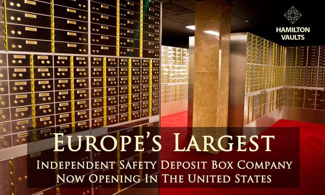 Safety Deposit Boxes Hamilton